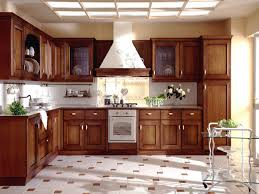 Wood Kitchen Modern Wood Kitchen Cabinets With Wooden Laminating Flooring Also