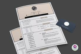 2 Page Resume Modern 100 page resume template on Behance 61