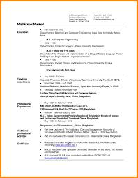 Prepossessing Resume For Teachers In Indian Format With Teacher