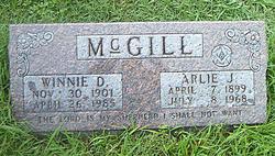 Winnie Davis McGill (1901-1985) - Find A Grave Memorial