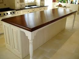 wood countertop on island butcher block countertops for wood kitchen island