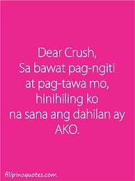 Love Quotes Tagalog Para Sa Crush Ioxqywfoy Sana Nga Ako Yung