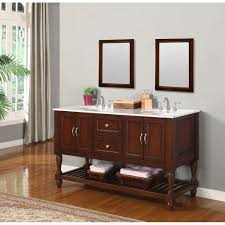 60 Bathroom Cabinet Direct Vanity Sink Mission Turnleg Spa 60 Double Bathroom Vanity