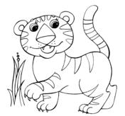 Disegni Di Tigri Da Colorare Pagine Da Colorare Stampabili