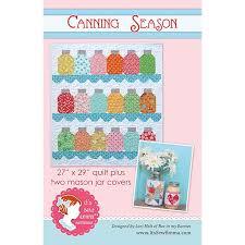 It's Sew Emma Canning Season Pattern by Lori Holt | Quilt ... & Canning Season by It's Sew Emma Quilt Pattern & Mason Jar Covers by  SewPerfectlyVintage on Etsy Adamdwight.com