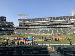 Oakland Raiders Seating Chart View Ringcentral Coliseum Section 115 Oakland Raiders