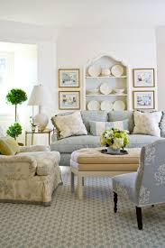 White Walls Living Room Decor Arrange Shelves To Showcase Collections Traditional Home