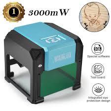 <b>Wainlux</b> Laser Engraving Machine <b>3000mW</b> Mini Desktop Laser ...