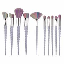 unicorn brush sets. this unicorn makeup brush set is magical and beautiful to look at! get the best sets