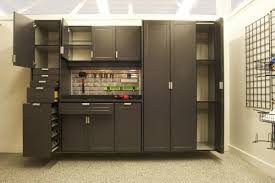 Floor To Ceiling Garage Cabinets Garage Cabinets Good Garage Shelving Ideas To Maximize Room Wall