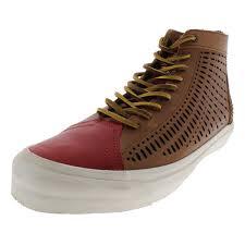 vans mens th sk8 nomad lx leather high top skate shoes 0