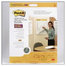 43 20 3m 566 Post It Self Stick Wall Pads 508x584mm Easel