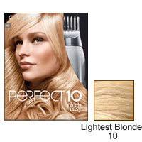 Clairol Hair Color Chart Clairol Nice N Easy Perfect Ten