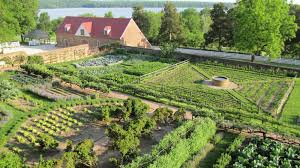 Kitchen Gardens The Four Gardens At Mount Vernon A George Washingtons Mount Vernon