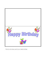 how to create a birthday card on microsoft word greeting card template gse bookbinder co