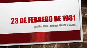 23 de febrero de 1981 by La biblioteca del JRJ - issuu