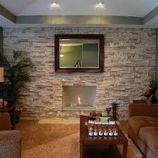 Stone Living Room Ideas
