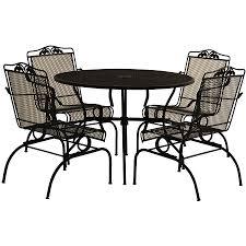 patio patio dining sets 6pc patio set mainstays willow springs 6 piece patio dining