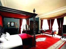 black red and white bedroom – bedroom ideas