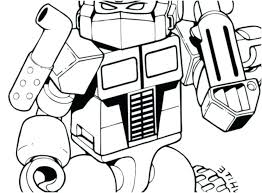 Transformers Coloring Pages Printable Coloring Pages Of Transformers