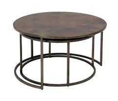 round nesting coffee table round nesting coffee tables copper top nesting coffee tables weirs furniture nest round nesting coffee table