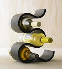 creative and classy tabletop wine rack  decorative furniture