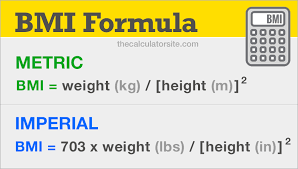 Imperial To Metric Height Chart Bmi Formula How To Use The Bmi Formula