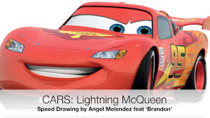 lightning mcqueen drawing.  Drawing How To Draw Lightning McQueen In Mcqueen Drawing T