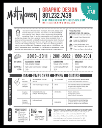 Graphic Design Resume Example Resume Graphic Designer