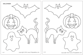 Printable Stencils For Kids Halloween Characters Printable Templates Coloring Pages