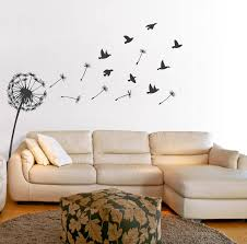 Small Picture dandelion wall sticker by oakdene designs notonthehighstreetcom