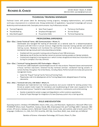Perl Resume Sample Personal Trainer Resume Sample Training Manager