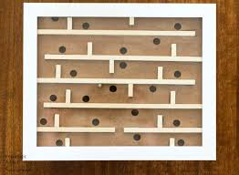 Wooden Maze Game With Ball Bearing Cool How To Make An Easy Marble Tilt Table Game The Kim Six Fix