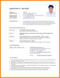 Resume Format 2017 100 latest cv format 100 resumed job 5