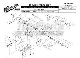milwaukee sawzall parts diagram. milwaukee sawzall parts diagram