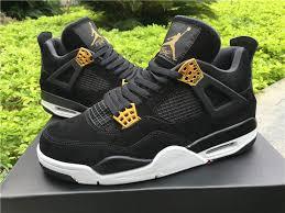 jordan shoes retro 4. 2017-cheap-air-jordan-4-retro-royalty-black- jordan shoes retro 4