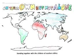 World Map Coloring Pages To Print Of Page Printable Book For Kids
