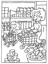 Afbeeldingsresultaat Voor Kleurplaat Supermarkt Pencil Coloring