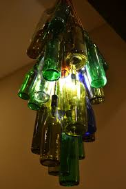 wine bottle chandelier how to make
