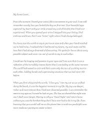 Long Distance Love Letter To Boyfriend Template Sample My