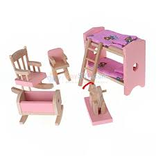 cheap wooden dollhouse furniture. Funny Wooden Dollhouse Furniture Kids Bedroom Toy Set Cheap