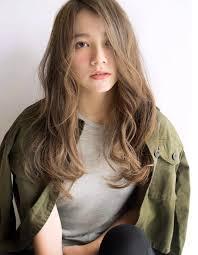 前髪長め外国人風ロングパーマta 331 ヘアカタログ髪型ヘア