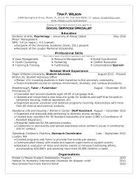 Example Resume College Student Resume For Undergraduate College Student Thrifdecorblog Com