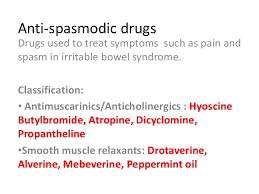 Muscle Relaxer Comparison Chart Antispasmodic Drugs