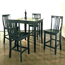 outdoor bistro set with 4 chairs pub table with 4 chairs black pub table set black
