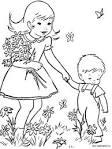 Раскраски и картинки о весне