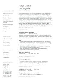 sample resume for fresh graduate civil engineering ideas of sample resume  format for civil engineer fresher