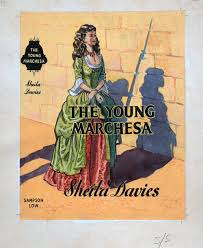 the young marchesa book cover art original by 20th century at the ilration art