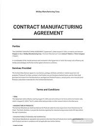 Permalink to Contract Manufacturing Agreement Doc / Contract Manufacturing Agreement Template Examples Pdf Google Pertaining To Toll Manufacturing Agreement Tem Agreement Professional Templates Contract Template : A manufacturing agreement is a document between two parties, a supplier and a buyer.