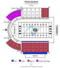 Peden Stadium Tickets And Peden Stadium Seating Chart Buy
